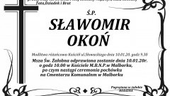 Zmarł Sławomir Okoń. Żył 58 lat.