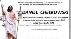 Zmarł Daniel Chełkowski.