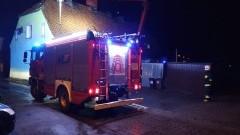 Pożar sadzy w Jazowej.