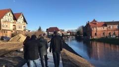 Czy wędkarze będą mieli swoje stanowiska po budowie nowego bulwaru wzdłuż rzeki Tugi w Nowym Dworze Gdańskim?