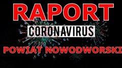 Koronawirus. Raport z powiatu nowodworskiego z dnia 25.03.2020