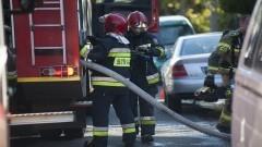 9 zastępów walczyło z pożarem w Orłowie – raport nowodworskich służb mundurowych.