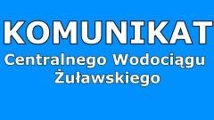 Centralny Wodociąg Żuławski nie naliczy odsetek za spóźnione wpłaty.