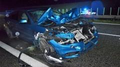 Wysiadły z samochodu i zginęły na A1.