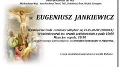 Zmarł Eugeniusz Jankiewicz. Żył 62 lata.