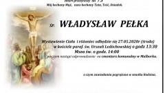Zmarł Władysław Pełka. Żył 73 lata.