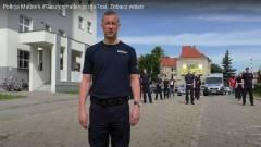 Policjanci z Malborka pompowali dla małej Tosi.