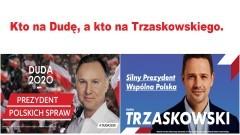 Na kogo będzie Pan/Pani głosować w II turze: na Dudę czy Trzaskowskiego ?