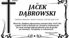 Zmarł Jacek Dąbrowski. Żył 50 lat.