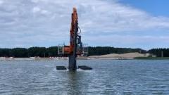 Przekop Mierzei: Pracuś, Osiłek, Ciamajda i Łasuch wybudują sztuczną wyspę