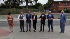 Uroczyste otwarcie zmodernizowanej DW515 na odcinku. Malbork – Grzymały.