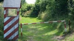 Pijany motocyklista bez uprawnień pojechał na wycieczkę na granicę polsko-rosyjską.