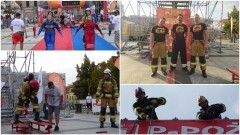 Sztumscy strażacy wzięli udział w zawodach Toughnes Firefighter Challenge Płock 2020.