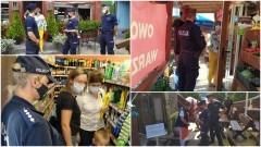 Kolejne wspólne działania policji i sanepidu.