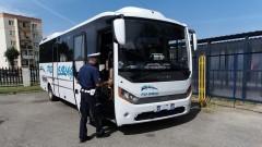 Nowodworska drogówka skontrolowała podróżujących autobusami.