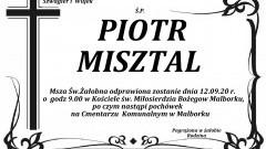 Zmarł Piotr Misztal. Żył 46 lat.