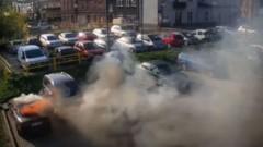 Tczew. 4 - latek i 9 – latek podpalili osobowe Audi.