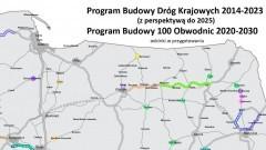 Program budowy 100 obwodnic. Dokumentacja obwodnicy Sztumu w przygotowaniu, a Malborka brak.