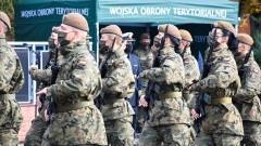 Batalion terytorialsów w Malborku przywitał nowych żołnierzy.
