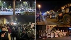 Nowy Dwór Gdański. Protestów ciąg dalszy.