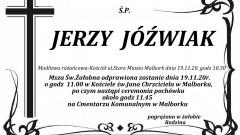 Zmarł Jerzy Jóźwiak. Żył 92 lata.