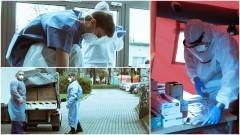 """Terytorialsi wspierają placówki medyczne w ramach operacji """"Trwała Odporność""""."""