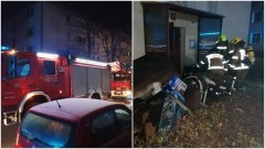 Malbork. Nocna akcja strażaków na Reymonta.