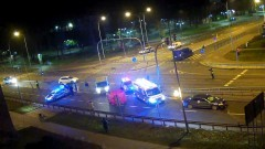 AKTUALIZACJA. Śmiertelne potrącenie pieszego w Malborku - 05.12.2020 [wideo] Uwaga! Materiał zawiera drastyczne sceny!