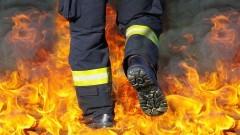 Pożar sadzy w kominie – raport nowodworskich służb mundurowych.