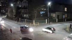 Malbork. Czy policjanci umieją jeździć po mini rondzie?