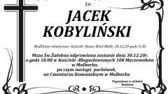 Zmarł Jacek Kobyliński. Żył 53 lata.