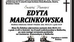 Zmarła Edyta Marcinkowska. Żyła 51 lat.