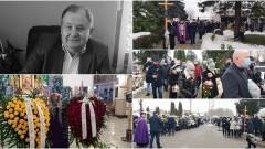 Malbork. Ostatnie pożegnanie Bogdana Kułakowskiego [wideo, zdjęcia] - 08.01.2021