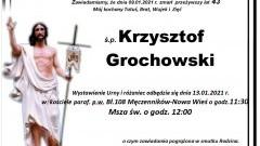 Zmarł Krzysztof Grochowski. Żył 43 lata.