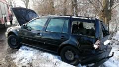 DK22. W wyniku zderzenia z ciężarówką jedna osoba trafiła do szpitala.
