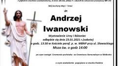 Zmarł Andrzej Iwanowski. Żył 55 lat.