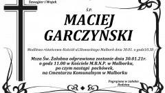 Zmarł Maciej Garczyński. Żył 74 lata.