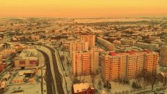 Zimowy Malbork z drona [wideo, zdjęcia]