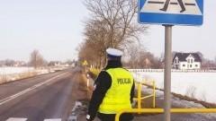 """Nowy Dwór Gdański. Dzisiaj działania """"Pieszy-Widoczny-Bezpieczny""""."""