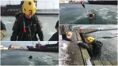 Zimowe ćwiczenia pomorskich terytorialsów.