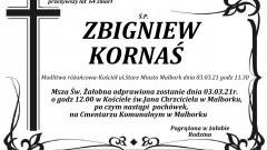 Zmarł Zbigniew Kornaś. Żył 64 lata.