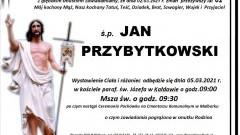 Zmarł Jan Przybytkowski. Żył 62 lata.