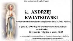 Zmarł Andrzej Kwiatkowski. Żył 56 lat.