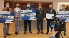 Fundusze europejskie na walkę z COVID-19 dla szpitali w Malborku i Sztumie.