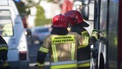 Pożar poddasza w Nowej Kościelnicy – raport nowodworskich służb mundurowych.