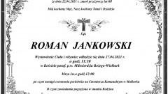 Zmarł Roman Jankowski. Żył 68 lat.