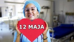 12 maja - Międzynarodowy Dzień Pielęgniarki.