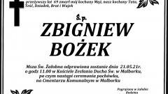 Zmarł Zbigniew Bożek. Żył 69 lat.