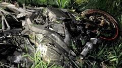 Śmierć motocyklisty – raport nowodworskich służb mundurowych.