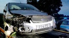 Jedna osoba w szpitalu po zderzeniu dwóch osobówek w Trępnowach – weekendowy raport malborskich służb mundurowych.
